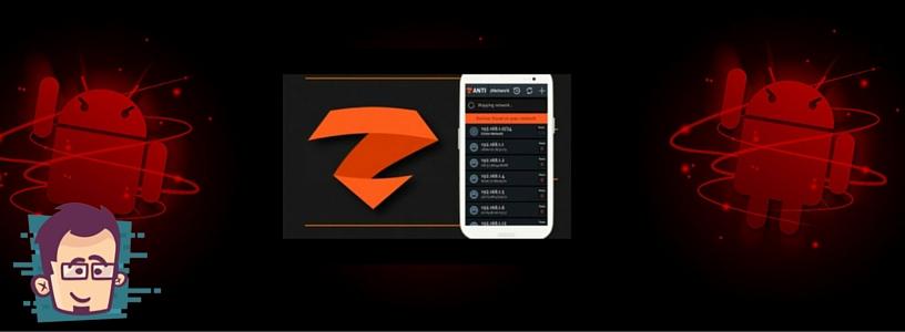 شرح تطبيق zAnti لعمل تدقيق واختراق للشبكات عبر الاندرويد
