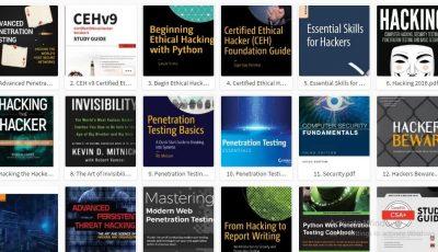 15 كتاب لتعلم اختبار الاختراقات 2020